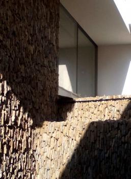 La piedra natural como revestimiento vertical