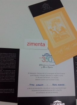 ZIMENTA WITH SAINT-GOBAIN